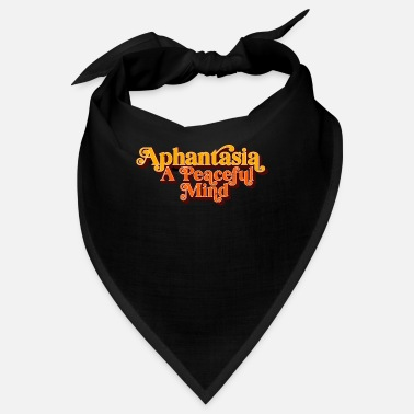 Aphantasia - A peaceful spirit, retro vintage - Bandana