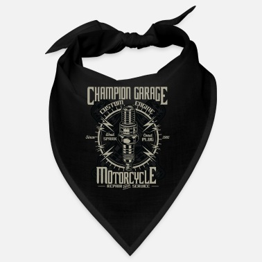 Champion Service Champion Garage Motorcycle Repair and Services - Bandana