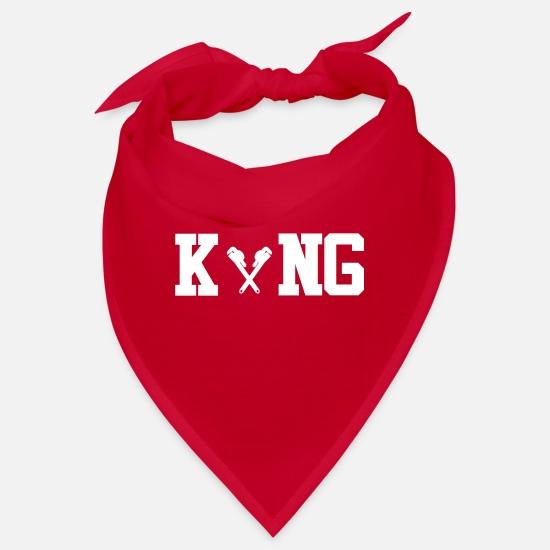 Office Bandanas - King Koenig Master Plumber png - Bandana red