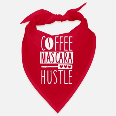 Grab Kaffe Mascara Hustle Lover Girls Hustle - Bandana
