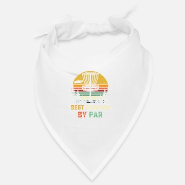 Frisbee Golf Best Pawpaw by Par Disc Golf Shirt -Disc Golf Gift - Bandana