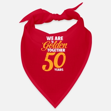 Wedding Golden wedding anniversary wedding anniversary - Bandana