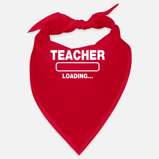 Professor Bandanas - Teacher - Bandana red