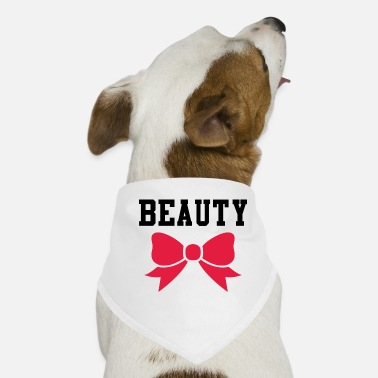 Beautiful Beauty and beauty - Dog Bandana