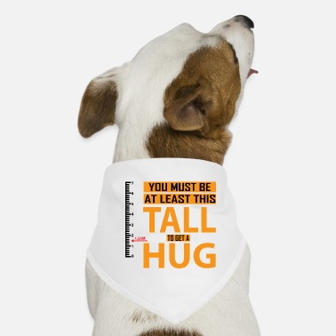Minimum Minimum size for a hug - Dog Bandana