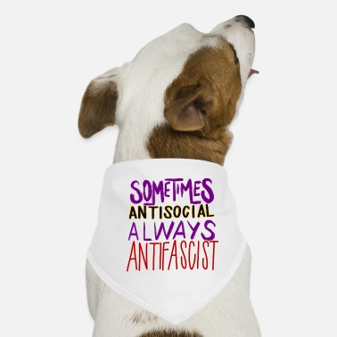 Antifascist ANTISOCIAL ANTIFASCIST - Dog Bandana