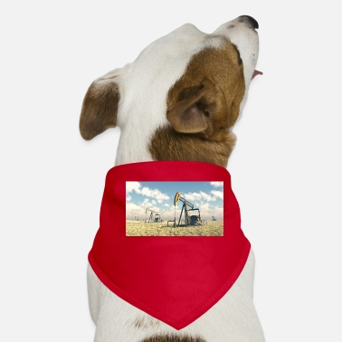 Oil Oil pumps, oil production, oil production, oil - Dog Bandana
