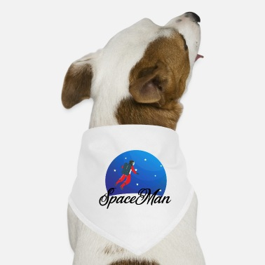 Spaceman Spaceman the astronaut - Dog Bandana