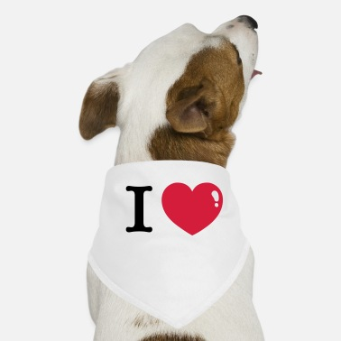 I Heart I love I Heart - Dog Bandana