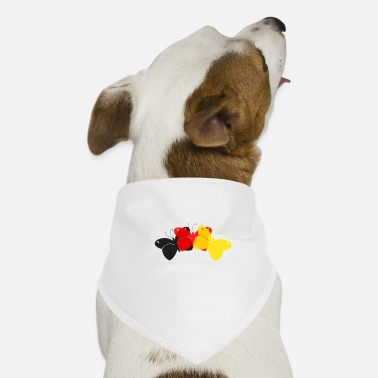 Germany Butterflies - Dog Bandana