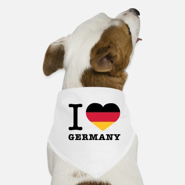 I Love Germany I love Germany © - Pañuelo bandana para perro