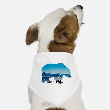 Forest Dweller Forest dwellers Forester bear forest nature animal wilderness - Dog Bandana
