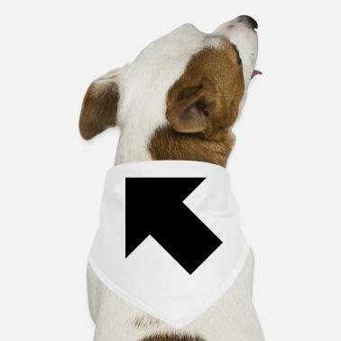 arrow full upperleft - Dog Bandana