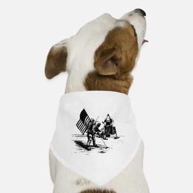 Moon To the moon. moon - Dog Bandana