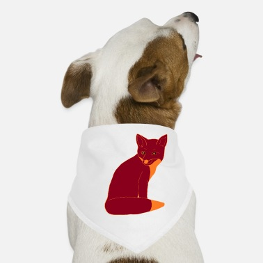 fox red smart - Dog Bandana