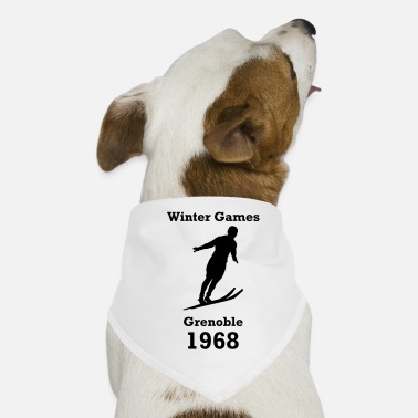 Winter Games winter games 1968 - Dog Bandana