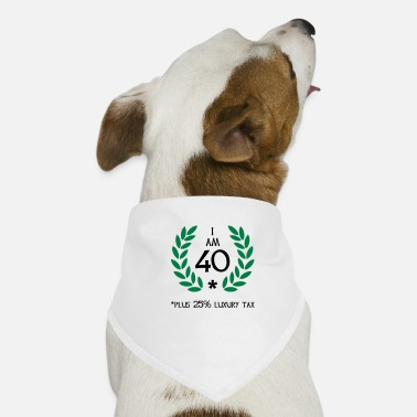 Irony 50 - 40 plus tax - Dog Bandana