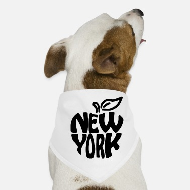 Big Apple New York Big Apple - Bandana til din hund