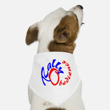 Rally Obedience Rally obedience design for dog sport with dog - Dog Bandana