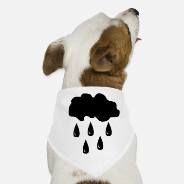 Rain Rain, rain cloud - Dog Bandana