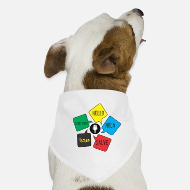 Language Languages - Dog Bandana