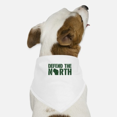 Defend the North Green Bay Yellow and Green - Dog Bandana