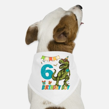 Childrens Birthday Party 6 Year Olds Childrens Birthday Boy Party - Dog Bandana