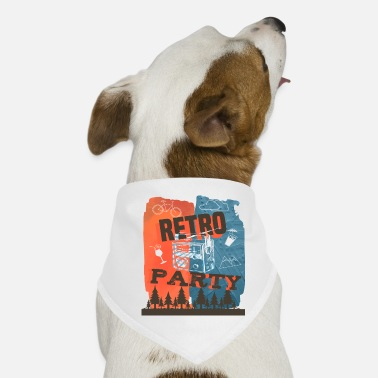 Retro Retro - Dog Bandana