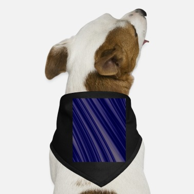 Fractal blue - Dog Bandana