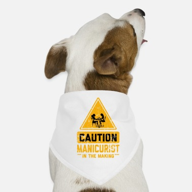 Job ATTENTION Manucure en devenir - Bandana pour chien