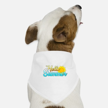 Summer design [Hello Summer] - Dog Bandana