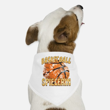 Basketball Spielerin BASKETBALL SPIELERIN - Hunde-Bandana