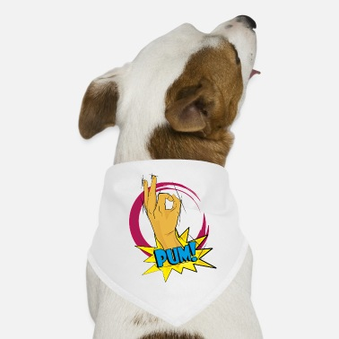 Hand Circuit PUM !!! The hand that trolls - Dog Bandana