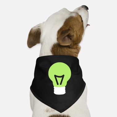 Light Bulb light bulb - Dog Bandana