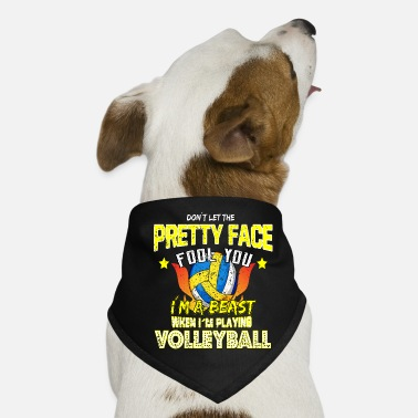 Volleyball Volleyball volleyball beach volleyball gift - Dog Bandana