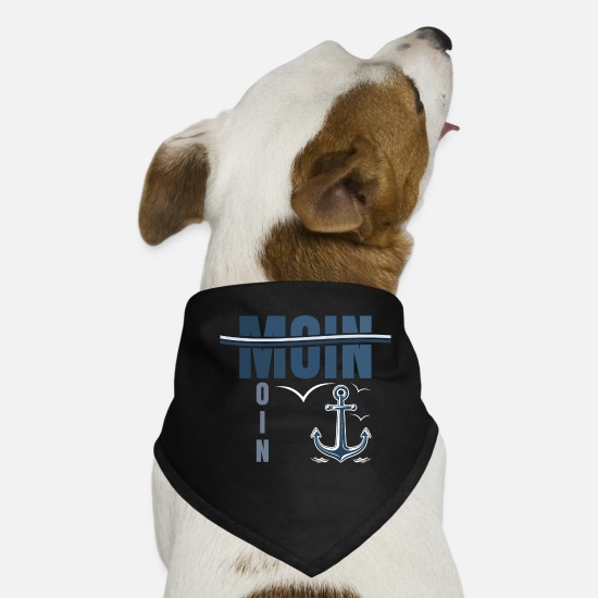 Harbour Bandanas - Good Morning - Dog Bandana black