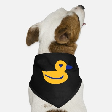 Ducky I Heart Ducky - Dog Bandana