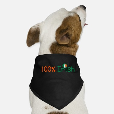Baseball Underwear ♥ټ☘Kiss Me I'm 100% Irish-Irish Rule☘ټ♥ - Dog Bandana