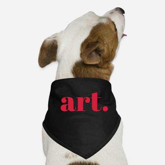 Love Bandanas - Art. - Dog Bandana black