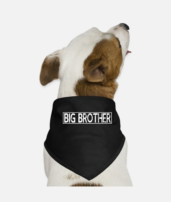 Big Bandanas - big brothers - Dog Bandana black