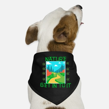 Nature NATURE - Get in to it - Dog Bandana