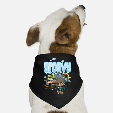 Boy Groovy city - Dog Bandana