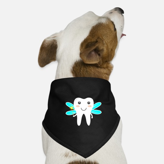 Magic Bandanas - Magic tooth fairy - Dog Bandana black