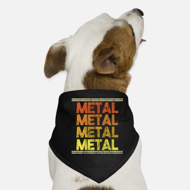 Metal Music Metal Music Shirt - Gift - Dog Bandana