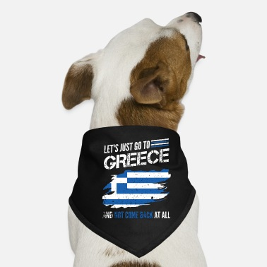 Greece Greece holiday gift flag - Dog Bandana