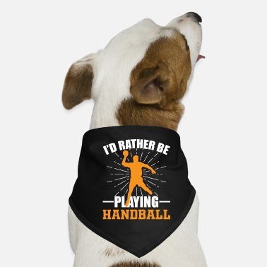 Playing Handball Playing handball - Dog Bandana
