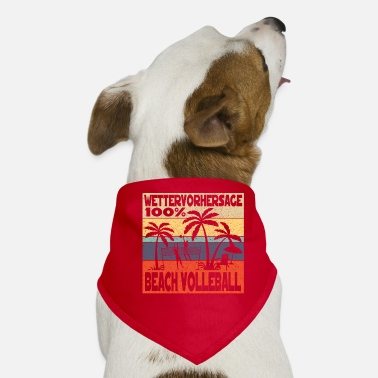 Beach Beach volleyball beach - Dog Bandana