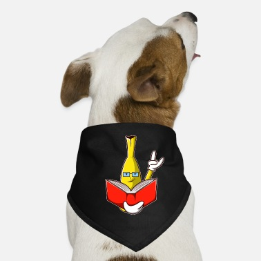 Thésard Cool Reading Nerd Banana - Conception - Bandana pour chien