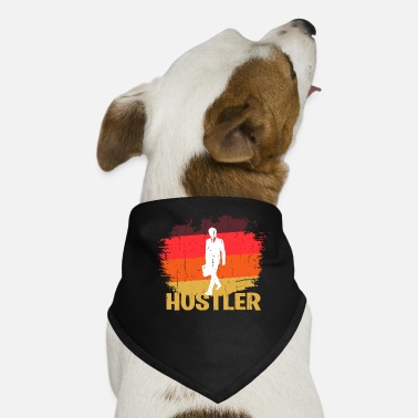 Workhorse Retro hustler design - Dog Bandana
