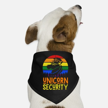 Security Service Unicorn security service - Dog Bandana